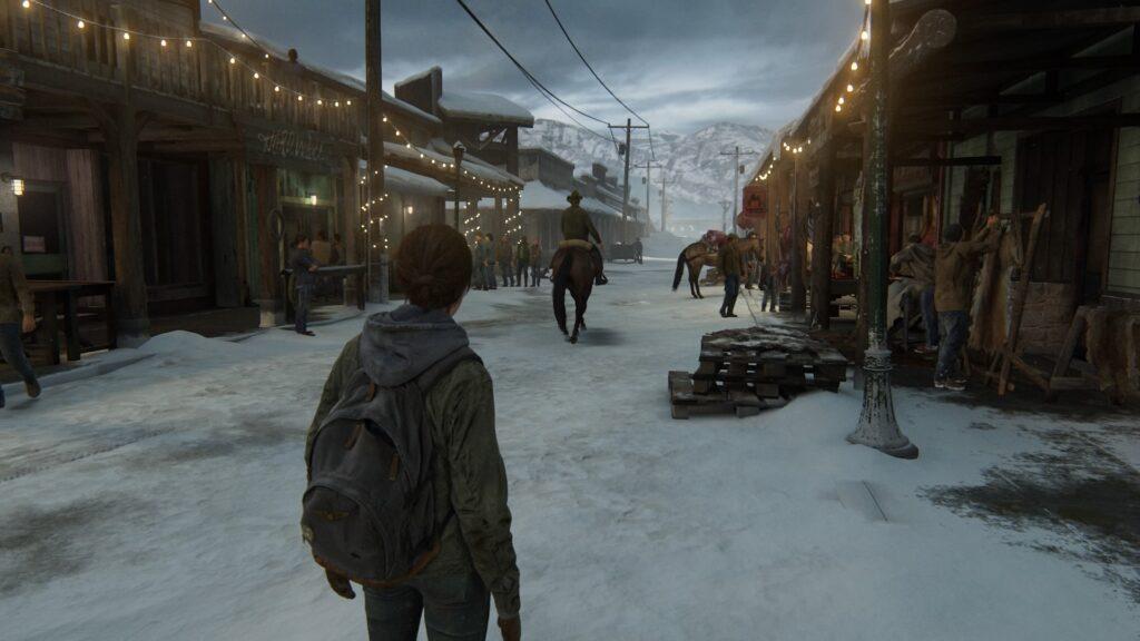 Ellie dans la ville