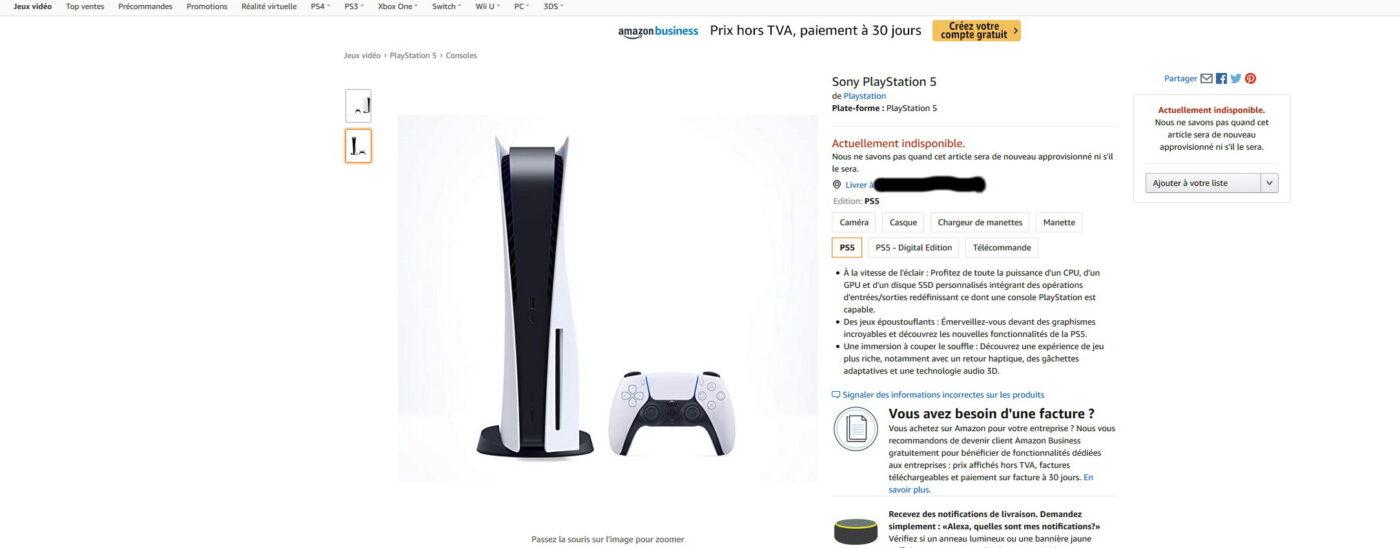 PlayStation 5 (PS5) sur Amazon.fr