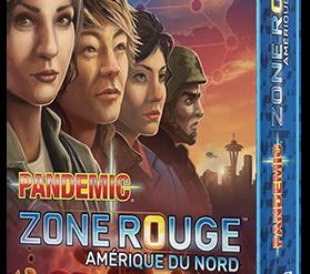 Pandemic Zone Rouge Amérique du Nord jeu