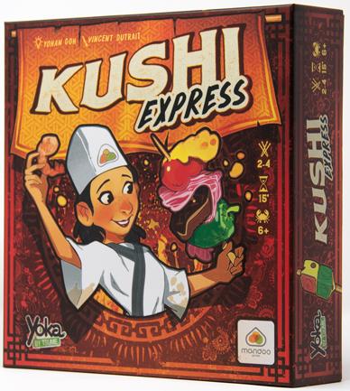 Kushi Express jeu