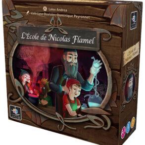 L'Ecole de Nicolas Flamel jeu