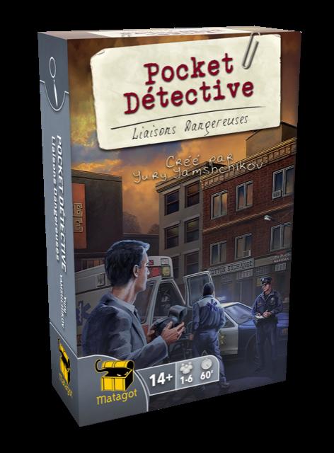 Pocket Détective Liaisons Dangereuse jeu