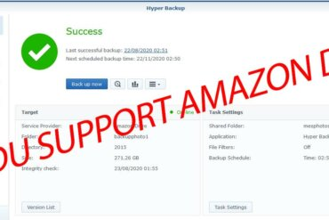 Fin amazon drive synology