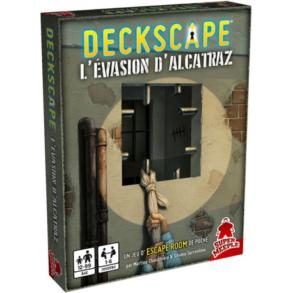 Deckscape l'Evasion d'Alcatraz jeu