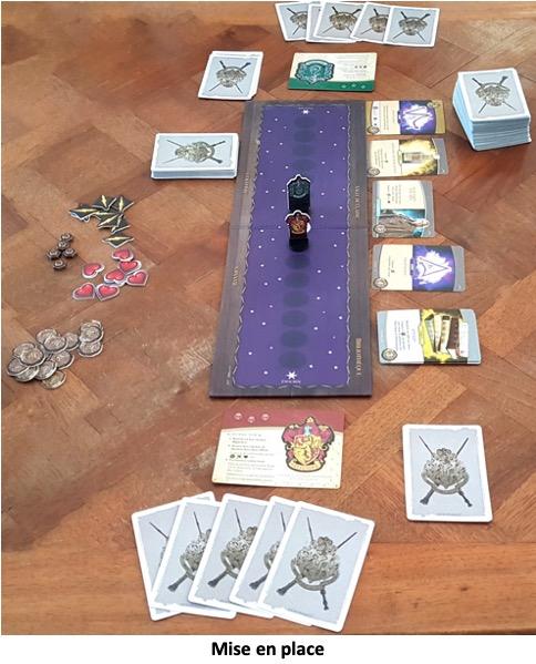 Une partie du jeu Harry Potter Bataille à Poudlard