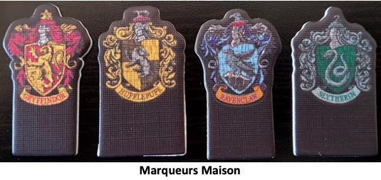 Les marqueurs Harry Potter Bataille à Poudlard