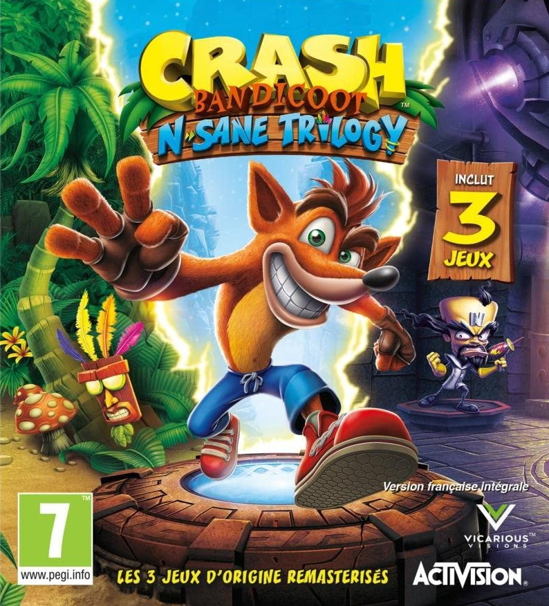 Crash Bandicoot N. Sane Trilogy ps5