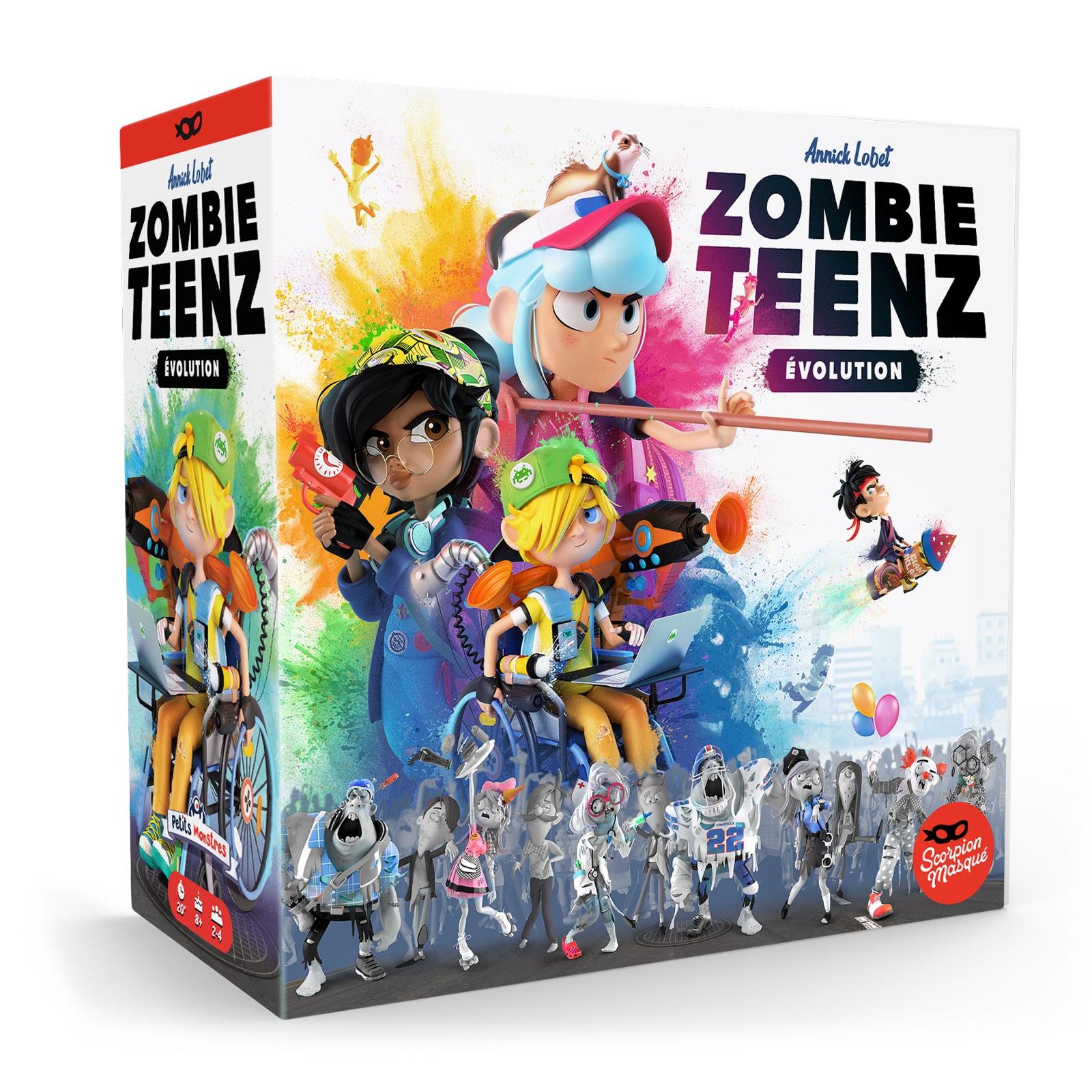 Zombie Teenz Evolution jeu