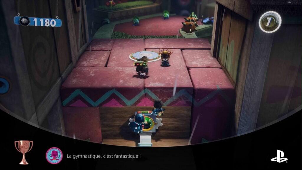 Sackboy PS5 saut