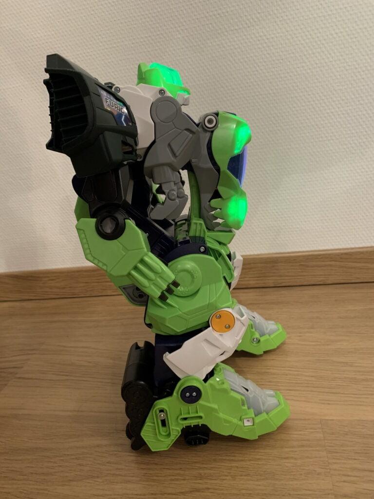 Robot Furio de profil