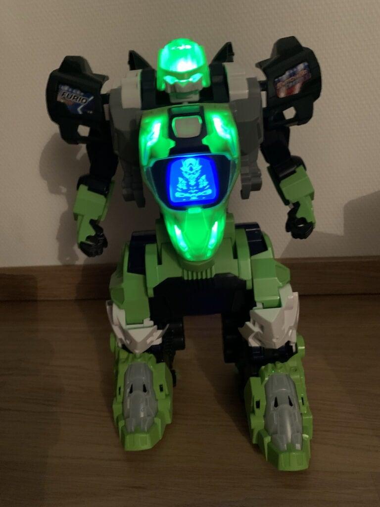 Lumière robot Furio Mega t-rex