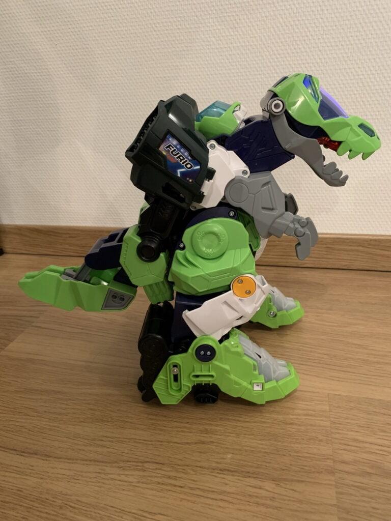 Mega T-Rex de Vtech de profil