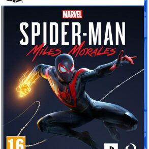 Jaquette spider-man Miles morales PS5
