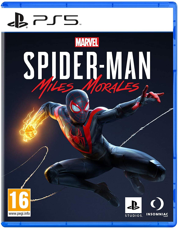 Jaquette spider-man Miles morales PS5