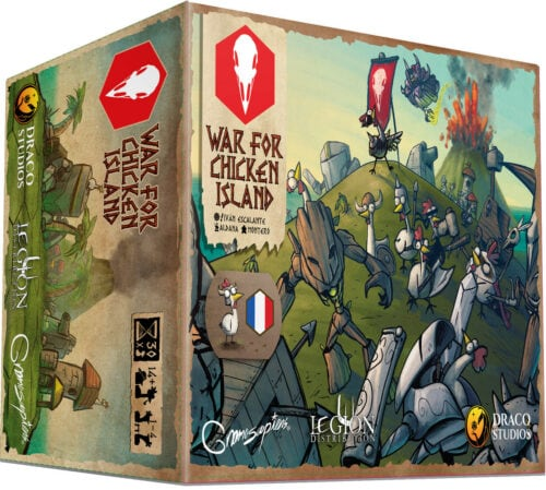 War for Chicken Island jeu