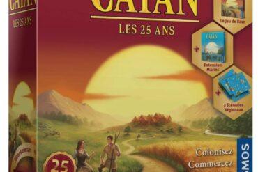 Boite jeu Catan 25 ans