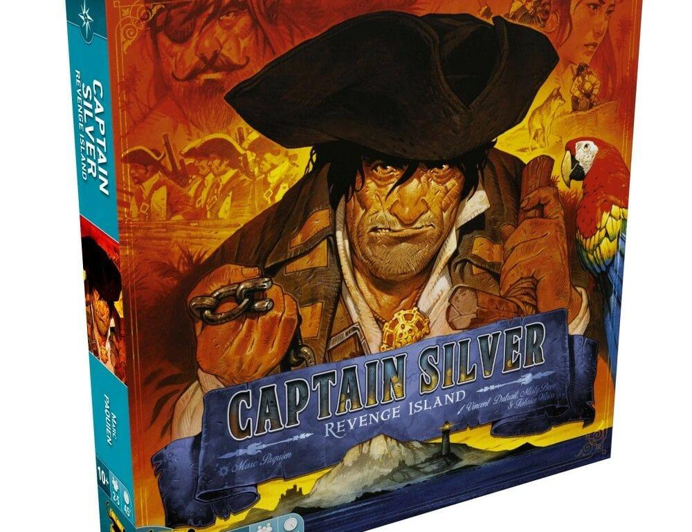L'Île Au Tresor Capitaine Silver jeu