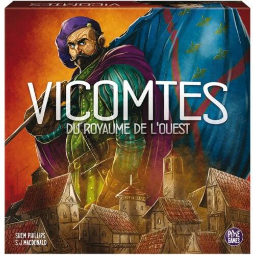 Vicomtes du Royaume de l'Ouest jeu