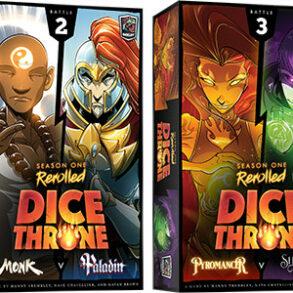 Dice Throne Season one rerolled jeu