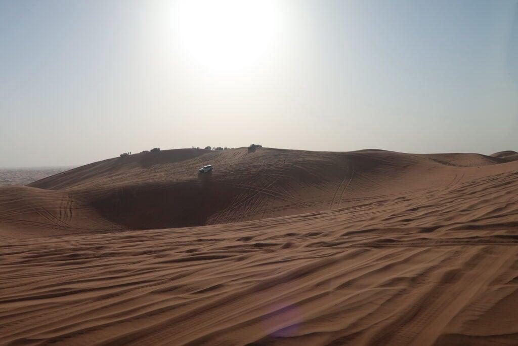 Dune bashing en 4x4 dans le désert de Dubai