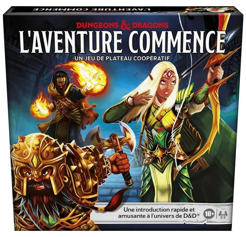 Dungeons & Dragons L'Aventure Commence jeu