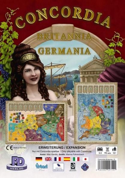Concordia Britannia et Germania extension