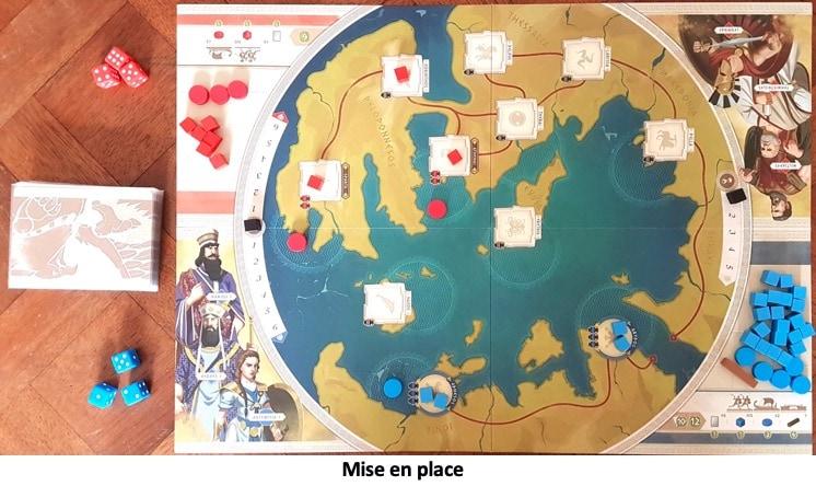 Plateau du jeu 300 La Terre et L'Eau