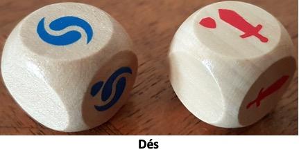 Les dés du jeu