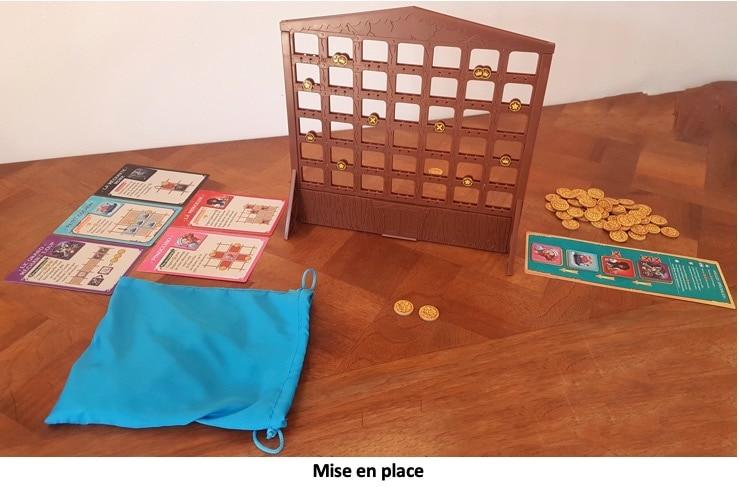 Mise en place du jeu Fairy Tale Inn de Asmodee