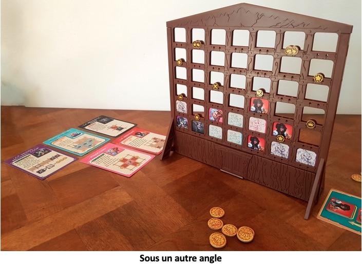Plateau du jeu et carte de Fairy Tale Inn