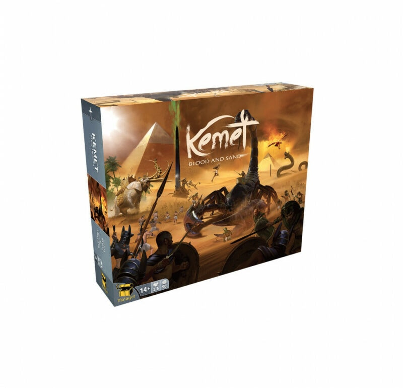 Kemet Blood and Sand jeu