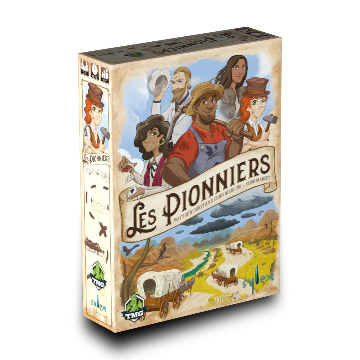 Les Pionniers jeu