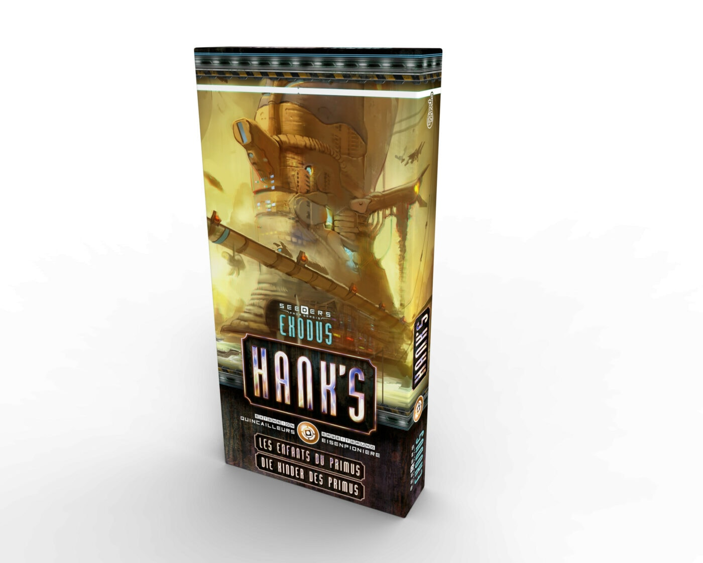 Hank's extension pour le jeu Seeders From Sereis - Exodus