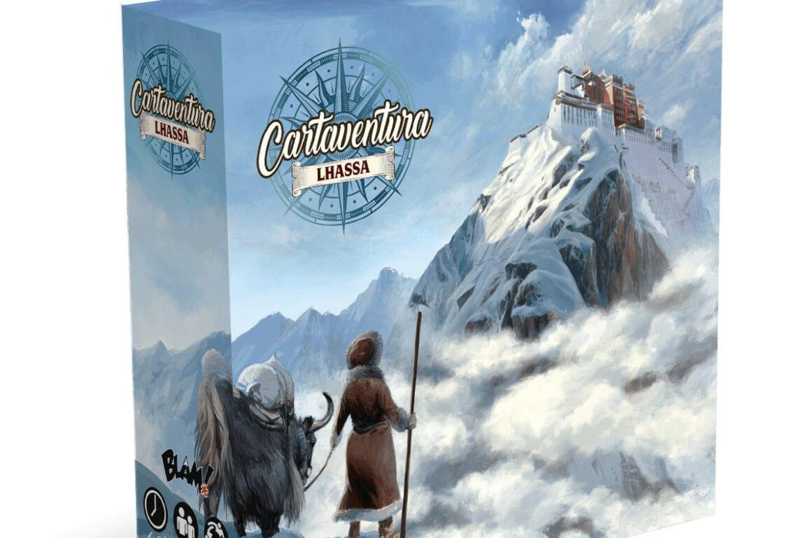Cartaventura Lhassa jeu