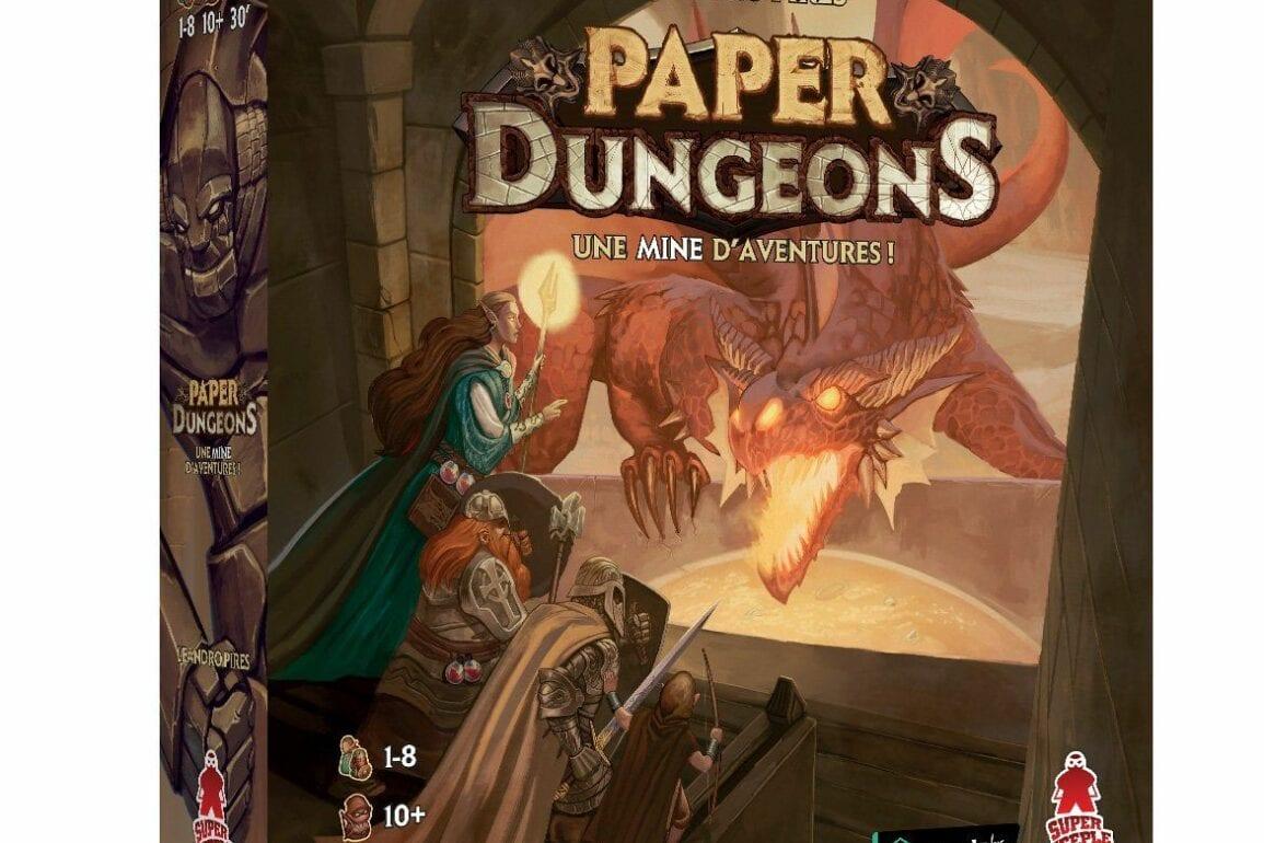 Paper Dungeons jeu