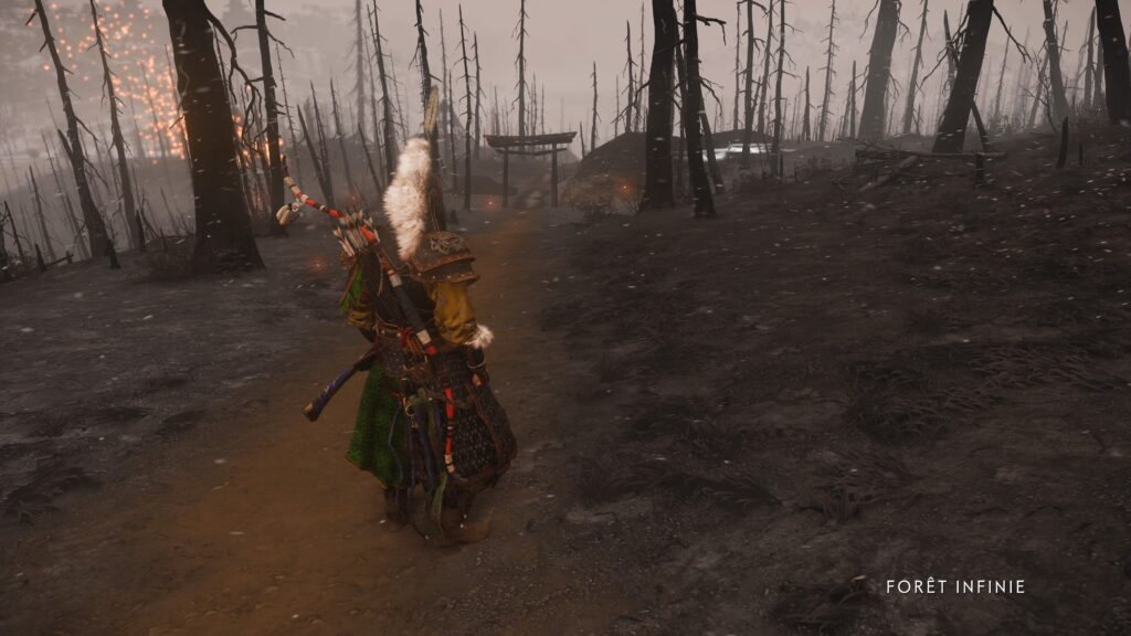 Jin Sakaï dans la forêt infinie