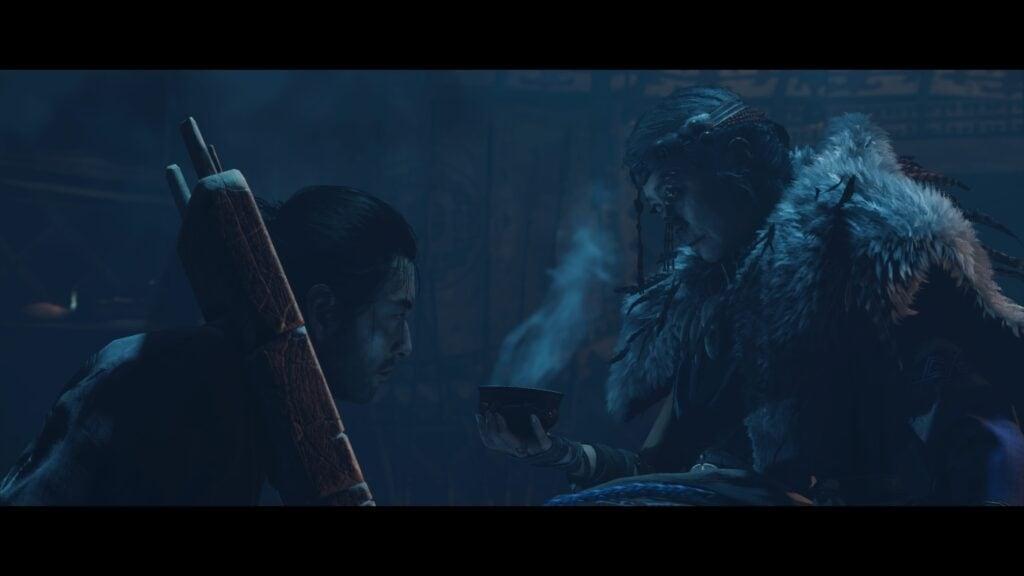 Jin Sakaï et l'aigle