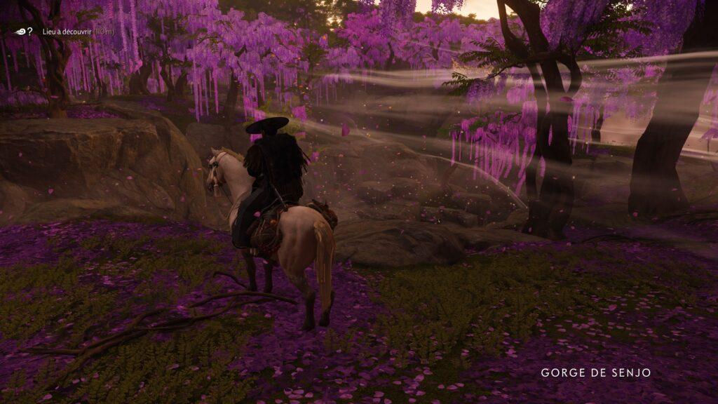 Jin Sakaï a cheval