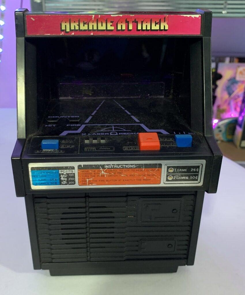 Le jeu arcade attack