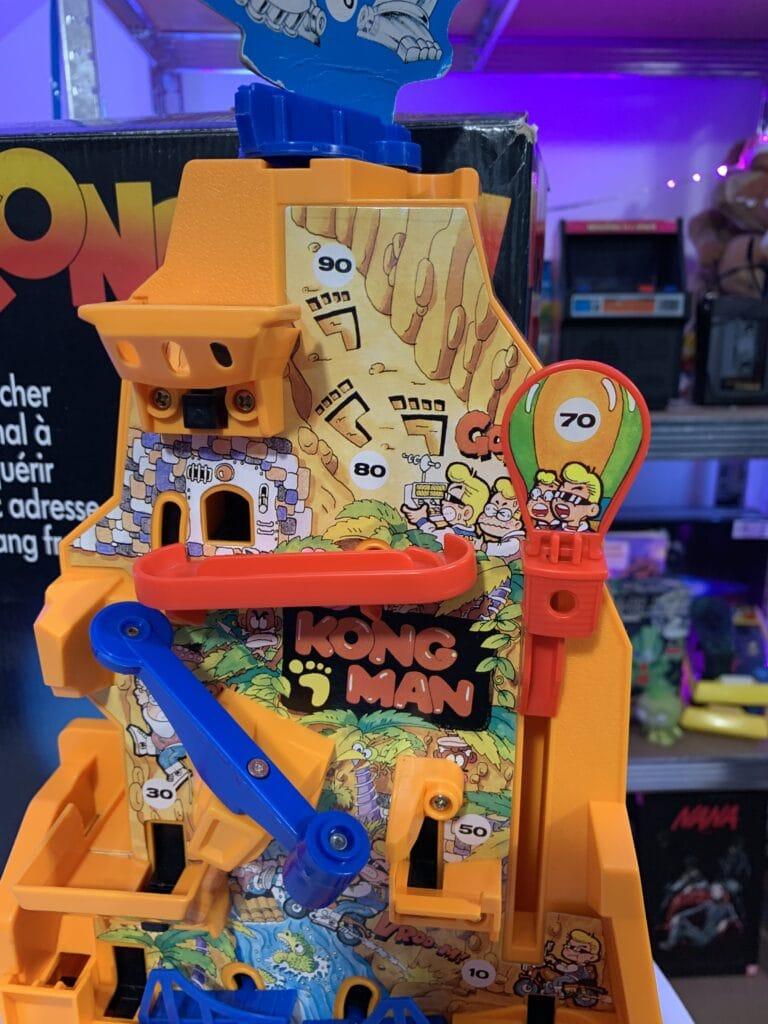 Le haut du jeu Kong man