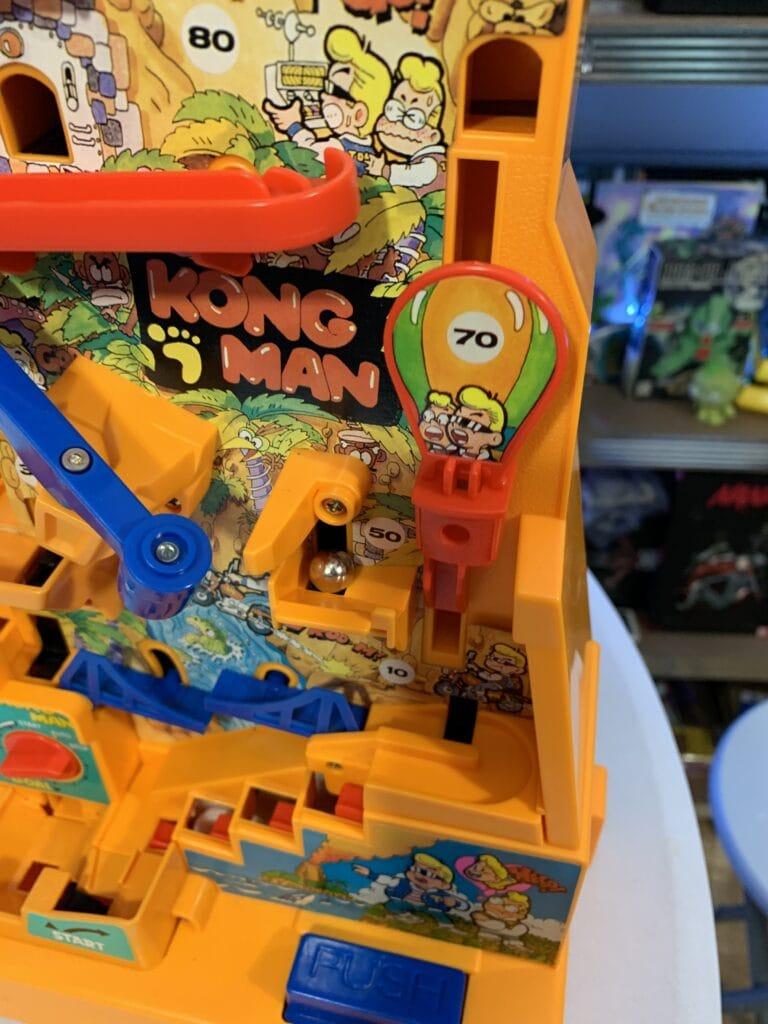 Le ballon dans Kong man
