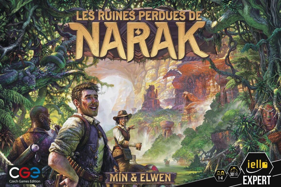 Les Ruines Perdues de Narak jeu