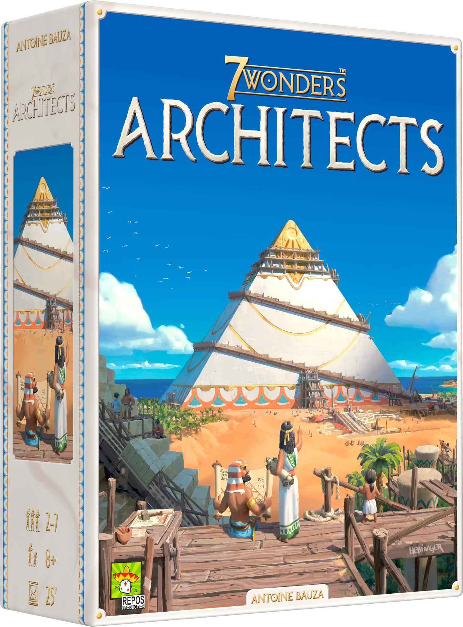 7 Wonders Architects jeu