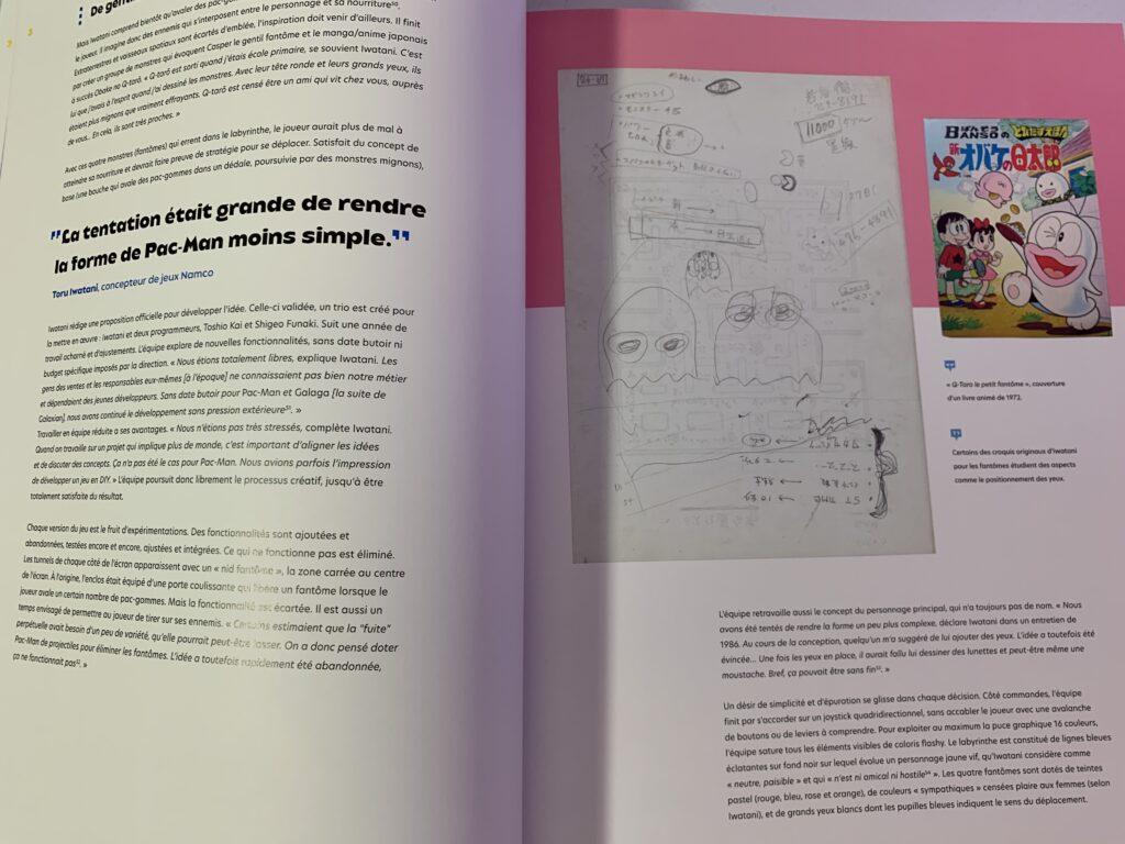 L'intérieur du livre