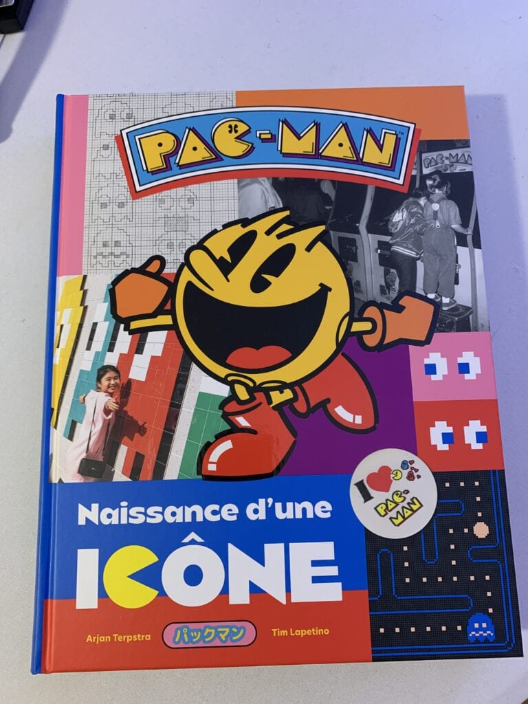 Le livre PAC-MAN : Naissance d'une icône