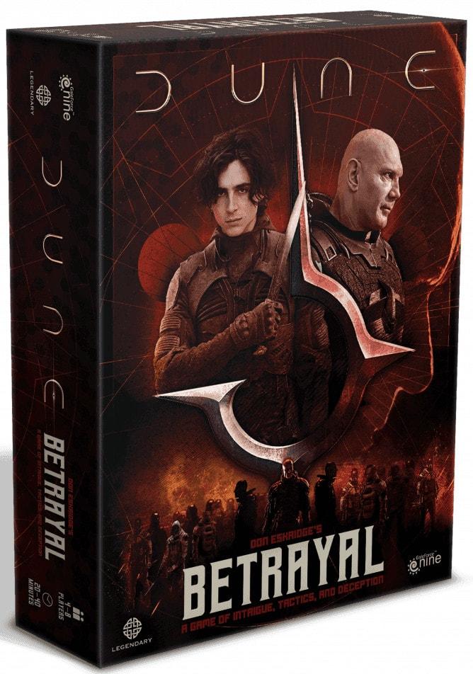 Dune Betrayal jeu