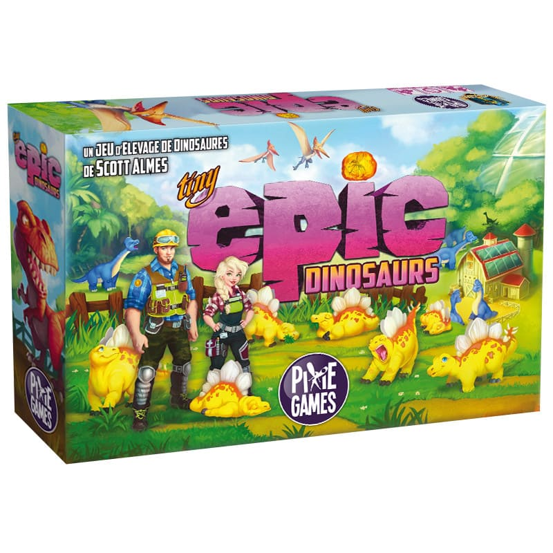 Tiny Epic Dinosaurs jeu